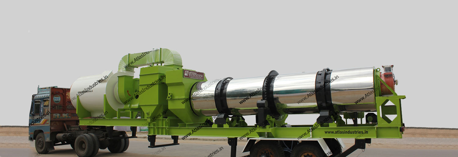 Mobile drum mix plant: 40 to 120 tph