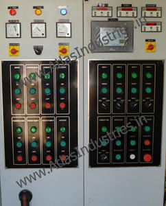 Computerised panel with digital display