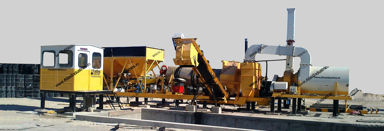 20-30 tph mobile asphalt plant