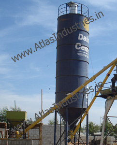 Cement / fly ash silo and hopper