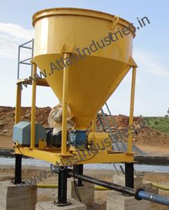 Mineral filling unit