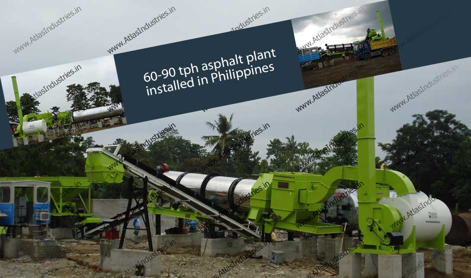 stationary asphalt mix plant Philippines
