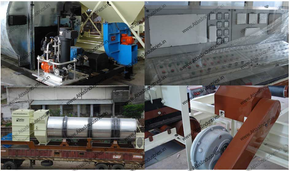 Asphalt mixing plant installed in Nigeria