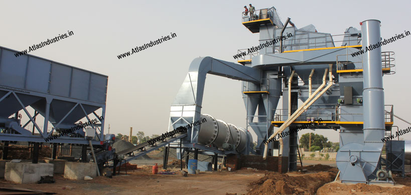 Asphalt batch mix plant