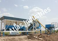 Portable concrete plants